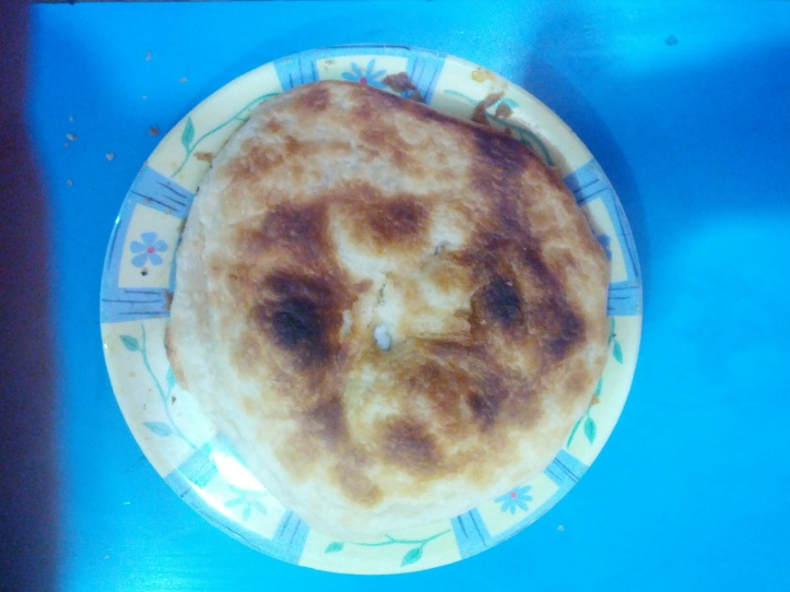 A hard to perfect multi layered bread to be consumed only with Nihari