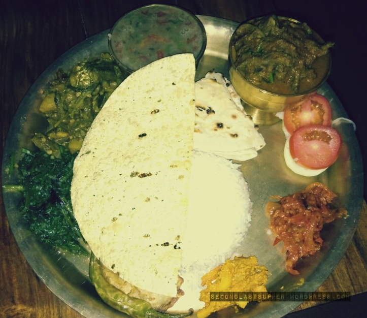 Mutton Thakrali
