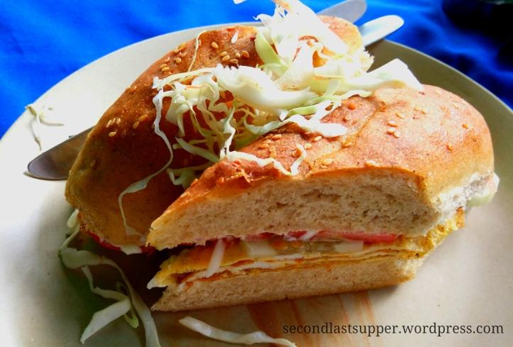 Omelette Sandwich