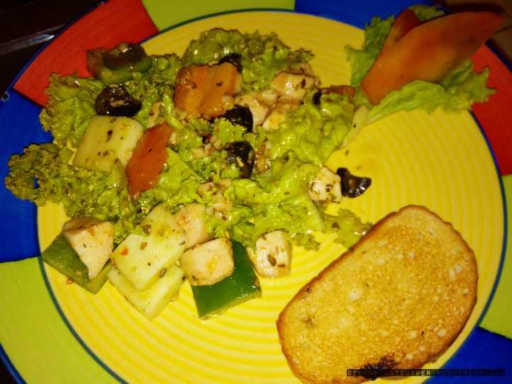 Paprika Chicken Salad