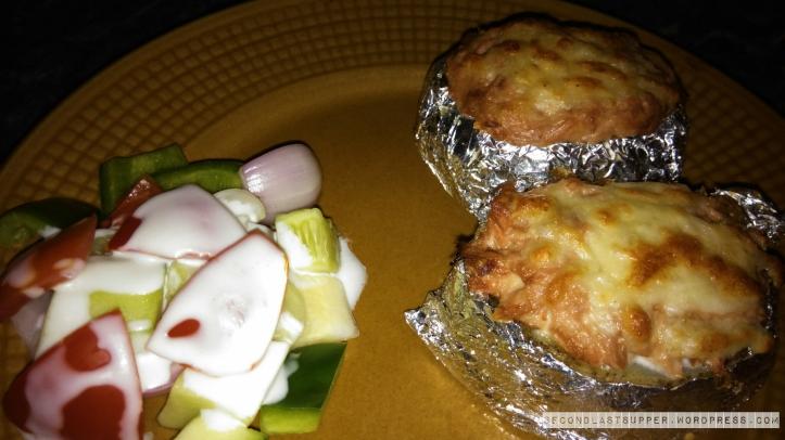 Tuna Mayo baked potato