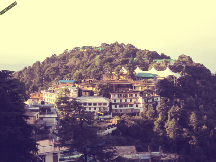 The Monastery as well as residence of Dalai Lama 14th