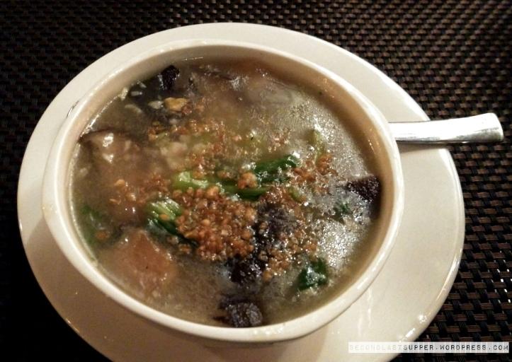 Burnt Garlic Soup