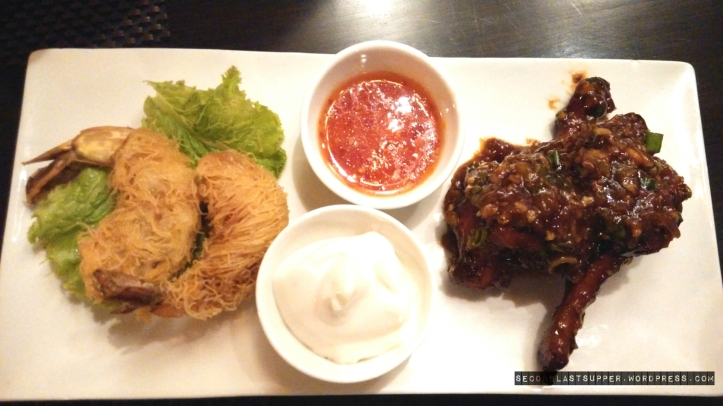 Katafi Prawns & Bulgogi Wings