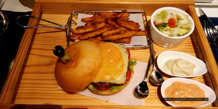 Regal mutton burger