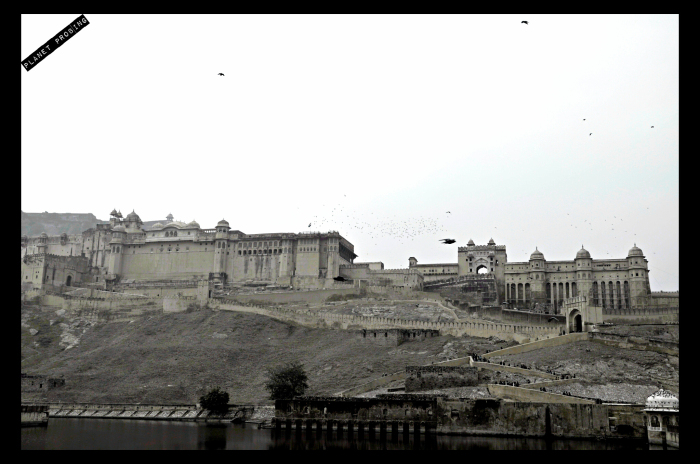 The grand Amer fort