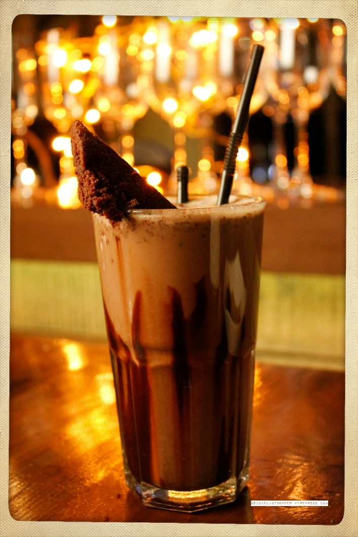 Chocolate Brownie Shake