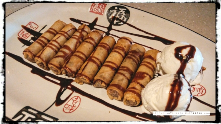 Date roll with Ice-cream