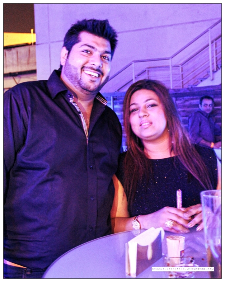 Sachin Kukreja with his wife Shivani Kukreja