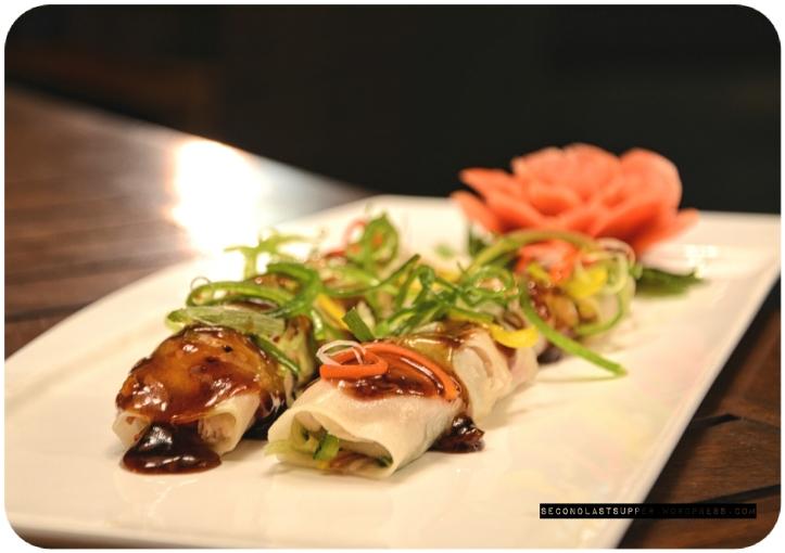 Steamed popiah fish