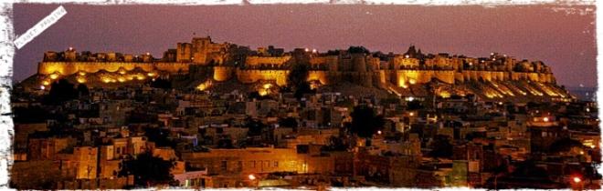 Jaisalmer Fort nightscape