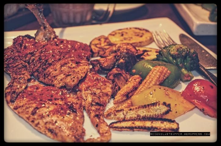 Chicken Brest with peri-peri sauce