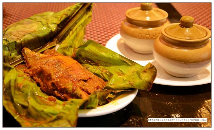 Shaapu-meen curry (red-hot fish curry cooked with tangy tamarind, staple of toddy shops of kerala)