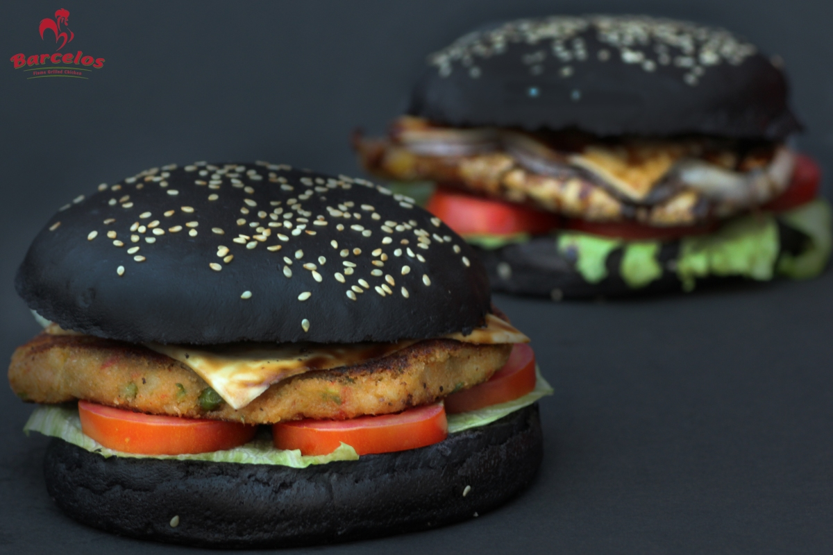Black burger: Black-magic or Black-hole?