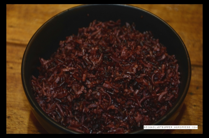 Chaak Khao- Sticky red rice (Manipur)
