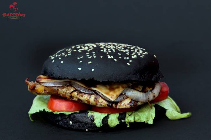 Chicken Black Burger