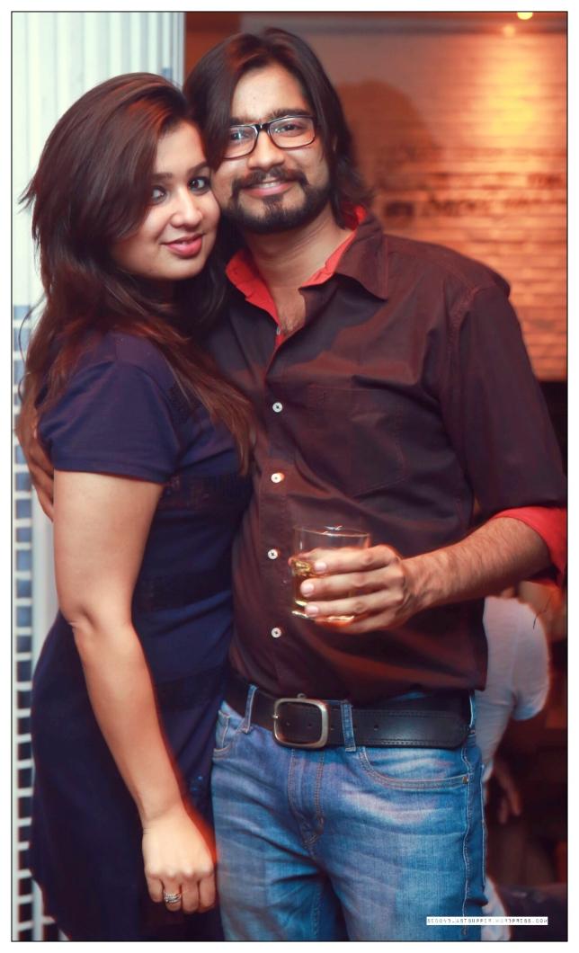 Shreya Mundhra and Apar Mathur at the launch