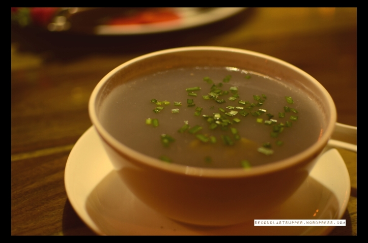Amrosu Soup with chicken