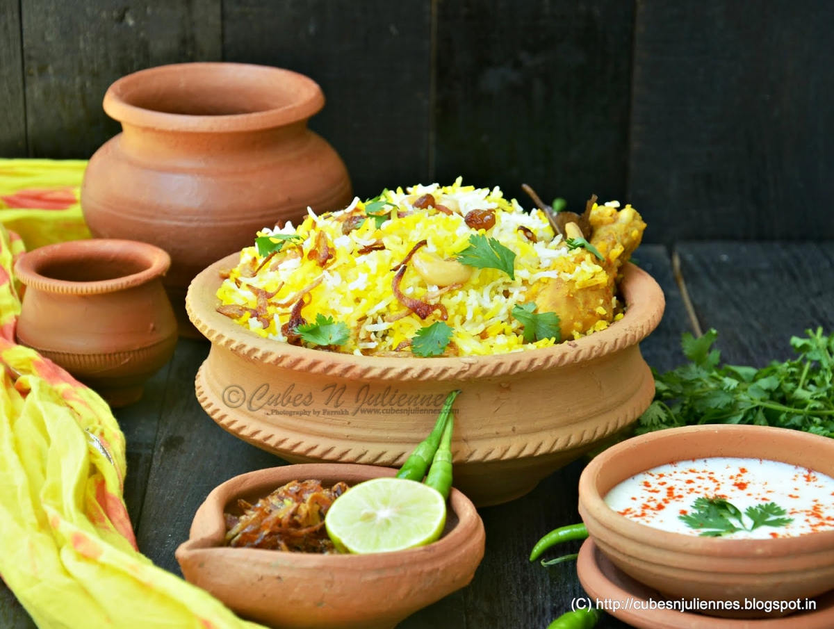 Deconstructing our humble Biryani