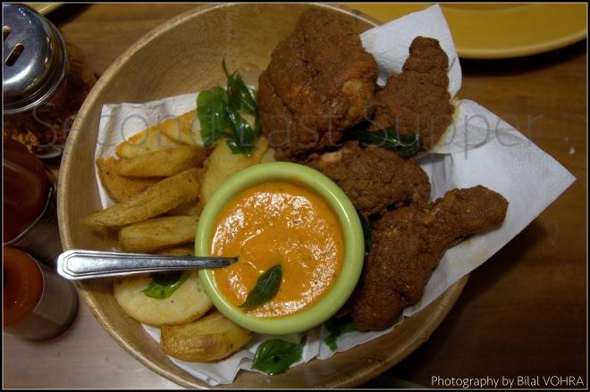 Southern Style Gunpowder Chicken