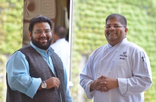Reviver Osama jalali & Chef Ravitej Nath