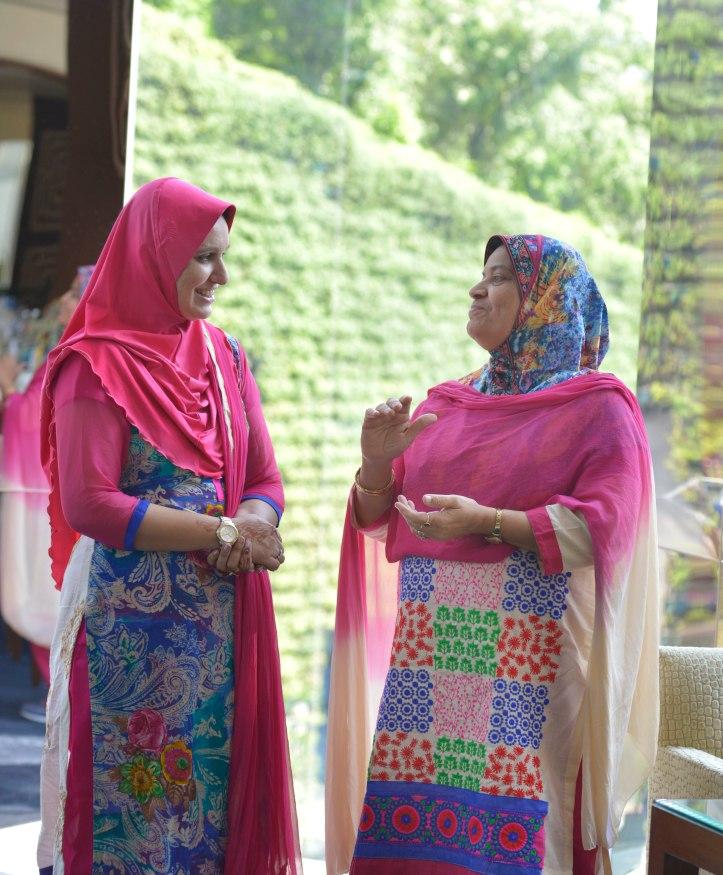 Inpromptu - Nazia Khan Jalali (Wife) and Nazish jalali (Mother)