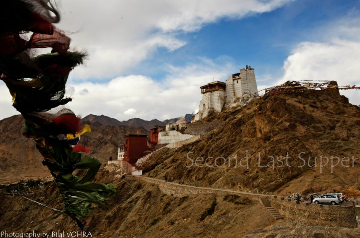 Tsamo Gompa, from somewhere close to nowhere !!