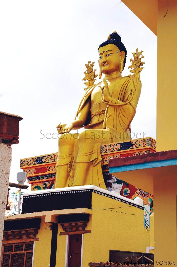 Future buddha on Likir Monastery