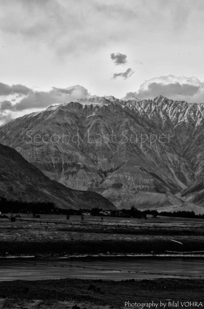 The vast beauty of Nubra valley in a timeless monochrome.