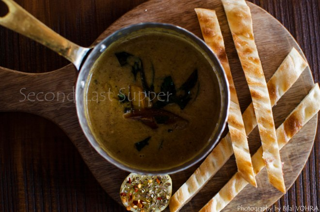 Grilled Sattu Soup