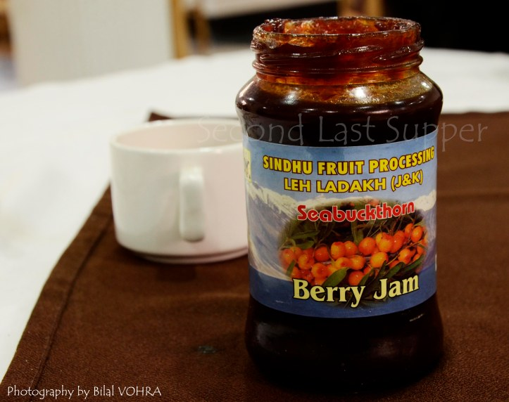 Seabuckthorn (lehberry) jam