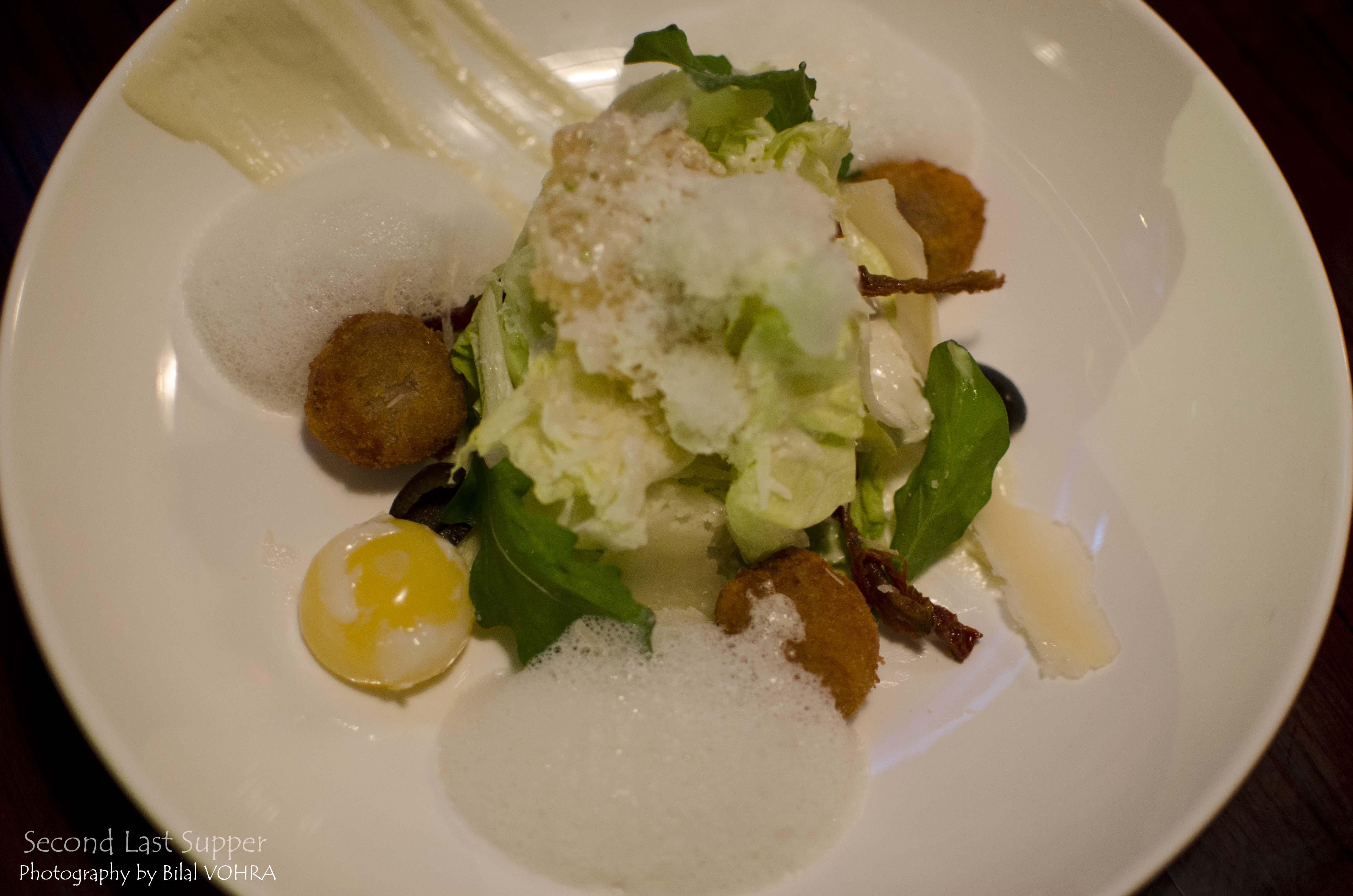 New Age Ceaser Salad