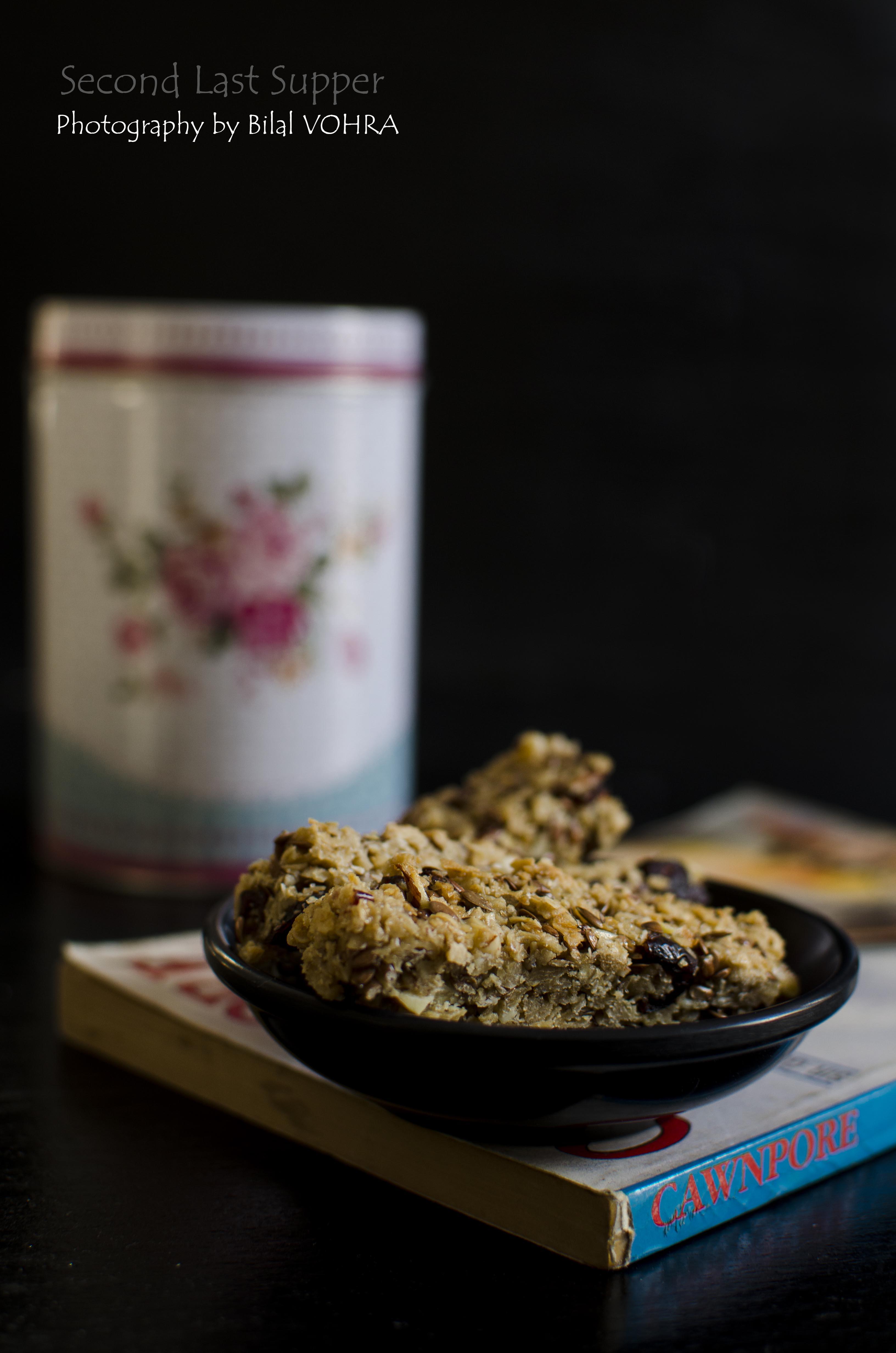 Cranberry & Sesame Granola bar 2