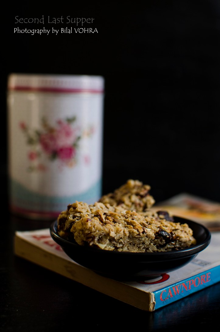 Cranberry & Sesame Granola bar 2